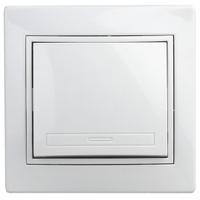 Intro Plano Выключатель 1кл белый 1-101-01