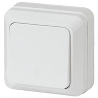 Intro Quadro Выключатель 1кл белый 2-101-01