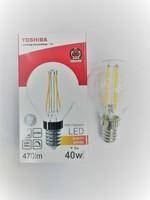 Japan quality лампа светодиодная диммируемая прозрачная G45 шарик 5W 2700K E14