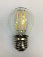 Japan qualiy лампа светодиодная диммируемая прозрачная G45 шарик 5W 2700K E27