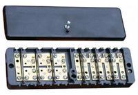 Коробка испытательная переходная  КИ УЗ (68*220*33) к элетросчетчикам (латунь)