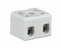 Колодка клеммная 2*2 керамика 10А 100/2000 SP-00101