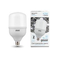 Лампа Gauss Elementary LED T120 E27 42W 3700lm 180-240V 6500K 63234