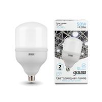Лампа Gauss Elementary LED T140 E27 50W 4500lm 180-240V 6500K 63235