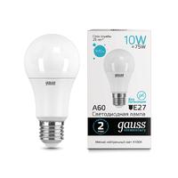 Лампа Gauss LED Elementary A60 10W E27 920lm 4100K 23220
