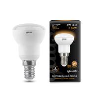 Лампа Gauss LED R39 E14 4W 350lm 2700K 106001104