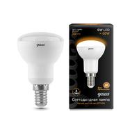 Лампа Gauss LED R50 E14 6W 500lm 3000K 106001106