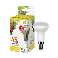 Лампа светодиодная LED-R50-standard 5Вт 230В Е14 3000К 450Лм ASD 4690612001531