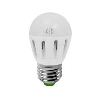 Лампа светодиодная LED-ШАР-standard 5Вт 230В Е27 3000К 450Лм ASD 4690612002163