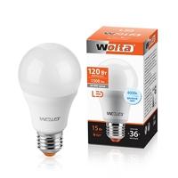 Лампа светодиодная Wolta BL60 E27 15вт 4000К 25S60BL15E25 холодный свет