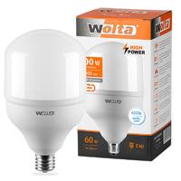 Лампа светодиодная Wolta HP 60Вт E27 6500K 25WHP60E27/40 белый свет