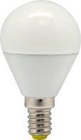 FERON лампа светодиодная шарик матовый G45 Е-27 7W холодный белый LB-95 6400К