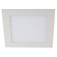 LED 2-12 4K Светильник ЭРА светодиодный квадратный LED 12W   220V 4000K