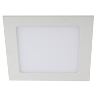 LED 2-12 6K Светильник ЭРА светодиодный квадратный LED 12W 220V 6500K