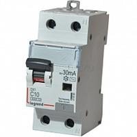 Legrand DX3-E Дифференциальный автоматический выключатель 2п 10А 30мА 411000