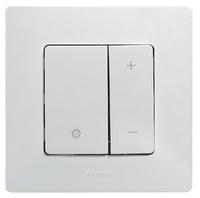 Legrand ETIKA Диммер регулятор света 400Вт нажимной белый механизм 672218
