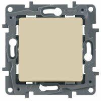 Legrand ETIKA Выключатель 1кл. прох. крем механизм 672305
