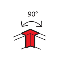 Legrand METRA Внутренний угол 100х50mm 90° 638011