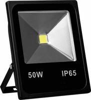 LL-839 Feron прожектор светодиодный 1COB LED 50W 4000LM 6400K AC220V/50Hz, 280*236*65mm  IP65, черный 12972