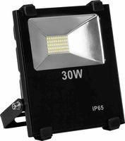 LL-850 Feron прожектор светодиодный 2835 SMD 30W 3000LM 6400K AC220V/50Hz 155*175*55mm IP65, черный 12944
