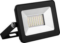 LL-903 Feron прожектор светодиодный 2835 SMD 30W IP65  AC220V/50Hz, черный с прозрачным стеклом 130x87x35 мм, цвет свечения зеленый, 32211