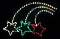 """LT011ветовая фигура """"фейерверк"""", 10м LED теплый белый+красный+зеленый, 24 LED/1м,  67*92см 26709"""