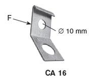 Нилед анкерный кронштейн CA 16 (4х16/25) Франция