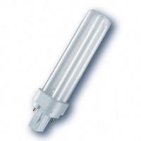 Osram лампа люминесцентная DULUX D 18W/840 (холодный белый 4000К) лампа G24d-2 12056
