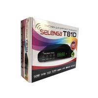 Приставка для цифрового ТВ, Selenga T81D с жк дисплеем, 2 порта USB