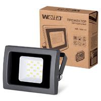 Прожектор светодиодный Wolta WFL-10W/03 SMD IP65 чёрный слим