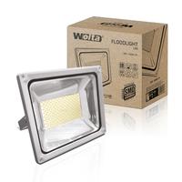 Прожектор светодиодный Wolta WFL-200W/01 5500K SMD IP65 цвет серебро