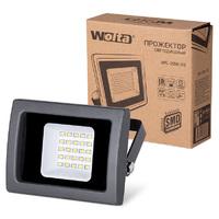 Прожектор светодиодный Wolta WFL-20W/03 SMD IP65 цвет чёрный слим