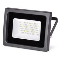 Прожектор светодиодный Wolta WFL-30W/03 SMD IP65 цвет чёрный слим