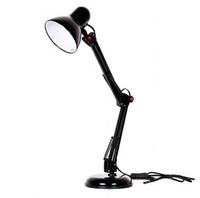 R&C Лампа настольная на подставке черная Е-27 HN2148 black