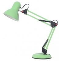 R&C Лампа настольная на подставке зеленая Е-27 HN2148 green