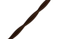 Bironi Ретро провод витой матовый 2*2,5 коричневый В1-425-72