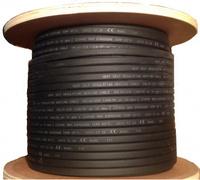 Саморегулирующийся кабель серый экранированный (200м) SRF 24W-2CR