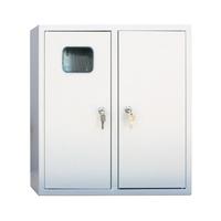 Щит металлический ЩРУ 3Н36 500х500х155 с окном под 3ф. счетчик, IP31