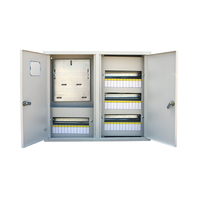 Щит металлический ЩРУ 3Н48 600х500х155 с окном под 3ф. счетчик, IP31