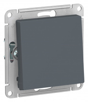 Schneider Electric ATLAS DESIGN 1-клавишный ПЕРЕКЛЮЧАТЕЛЬ, сх.6, 10АХ, механизм, ГРИФЕЛЬ ATN000761