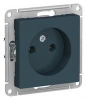 Schneider Electric ATLAS DESIGN РОЗЕТКА без заземления, 16А, механизм, ИЗУМРУД ATN000841