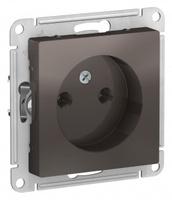 Schneider Electric ATLAS DESIGN РОЗЕТКА без заземления, 16А, механизм, МОККО ATN000641