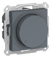 Schneider Electric ATLAS DESIGN СВЕТОРЕГУЛЯТОР (диммер) поворотно-нажимной, 630Вт, мех., ГРИФЕЛЬ ATN000736