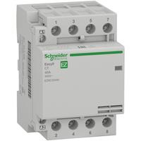 Schneider electric модульный контактор EASY9 CT 40A 4НО 230/250В АС 50ГЦ EZ9C32440