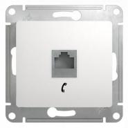 Schneider GLOSSA розетка TF белая механизм GSL000181Т