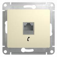 Schneider GLOSSA розетка TF крем механизм GSL000281T