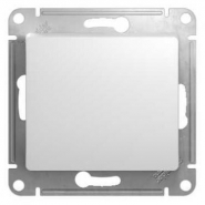 Schneider GLOSSA выключатель 1кл. белый механизм GSL000111