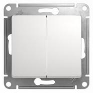 Schneider GLOSSA выключатель 2кл. белый механизм GSL000151