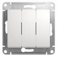 Schneider GLOSSA выключатель 3кл. белый механизм GSL000131