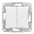 Schneider SEDNA выключатель 2кл. проходной белый SDN0600121
